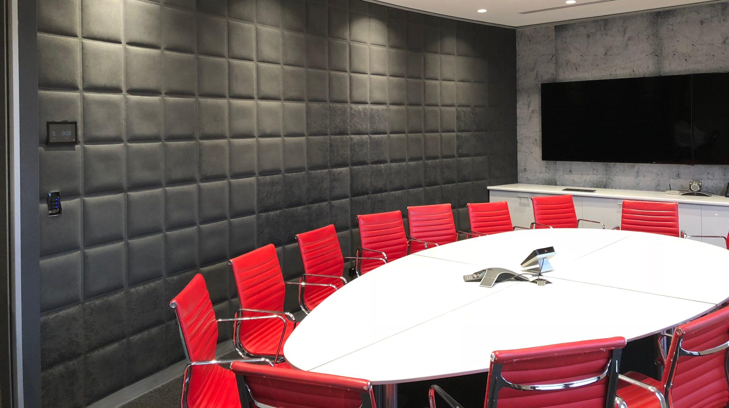 Pannelli fonoassorbenti per uffici e sale riunioni